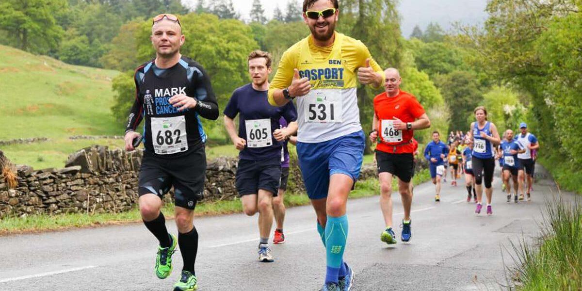 Challenge running event runners